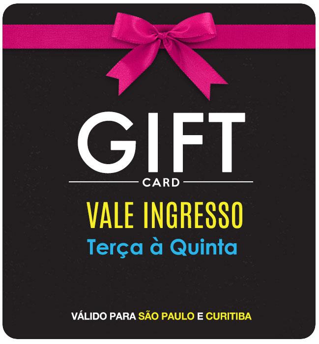 Gift Card Park de Trampolim em São Paulo