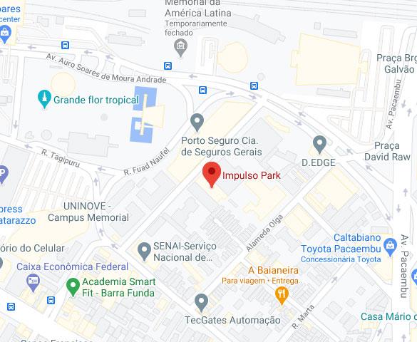 Localização Impulso Park SP